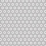 De samenvatting trekt van de de Bloem Bloemenlijn van de Ornamentwerveling Spiraalvormig Naadloos Patroon Als achtergrond Stock Afbeelding