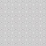 De samenvatting trekt van de de Bloem Bloemenlijn van de Ornamentwerveling Spiraalvormige Naadloze het Patroon Vectorillustratie Royalty-vrije Illustratie