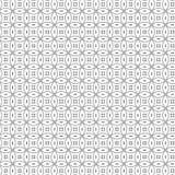 De samenvatting trekt van het de Cirkel Naadloze Patroon van de Ornamentlijn Vectorillustratie Als achtergrond Royalty-vrije Stock Foto's