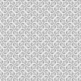De samenvatting trekt van het de Lijn Naadloze Patroon van de Ornamentwerveling de Spiraalvormige Vectorillustratie Royalty-vrije Stock Afbeelding