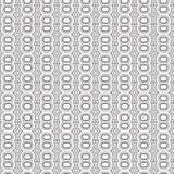 De samenvatting trekt van het de Lijn Naadloze Patroon van de Ornamentwerveling de Spiraalvormige Vectorillustratie Stock Afbeelding