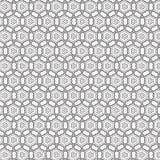 De samenvatting trekt van het de Lijn Naadloze Patroon van de Ornamentwerveling de Spiraalvormige Vectorillustratie Stock Fotografie