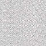 De samenvatting trekt van het de Lijn Naadloze Patroon van de Ornamentwerveling de Spiraalvormige Vectorillustratie Royalty-vrije Illustratie