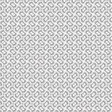 De samenvatting trekt van het de Lijn Naadloze Patroon van de Ornamentwerveling Spiraalvormige Vectorillustratie Als achtergrond Stock Afbeelding