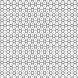 De samenvatting trekt van het het Ornamentnet van de Sterrendriehoek het Patroon Vectorillustratie Als achtergrond stock illustratie