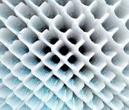 De samenvatting uitgedreven 3D illustratie van het netpatroon royalty-vrije illustratie