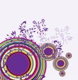 De samenvatting van cirkels Royalty-vrije Stock Foto's