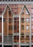 De samenvatting van de architectuur stock foto