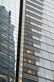 De Samenvatting van de Bouw van het Bureau van New York Stock Afbeeldingen