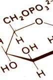 De samenvatting van de chemie Stock Afbeelding