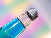 De Samenvatting van de Close-up van de Fles van de soda Stock Afbeeldingen