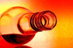 De Samenvatting van de Fles van de wijn Stock Afbeeldingen
