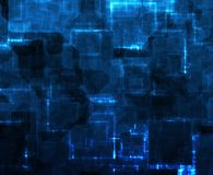 De Samenvatting van de Gegevens van de Weg van de informatie Stock Foto