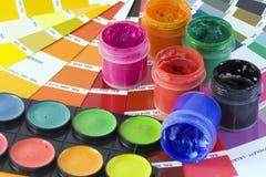 De samenvatting van de kleur stock afbeeldingen