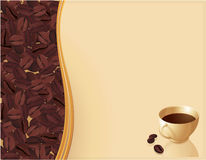 De samenvatting van de koffie Royalty-vrije Stock Fotografie