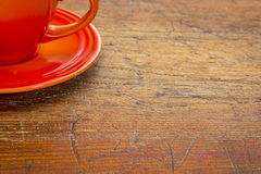 De samenvatting van de koffiekop Stock Fotografie