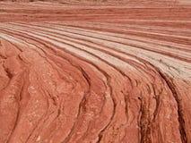 De Samenvatting van de Lagen van het zandsteen Stock Foto