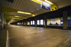 De Samenvatting van de metro Royalty-vrije Stock Foto's