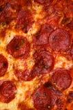 De samenvatting van de pizza Stock Afbeeldingen