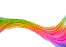 De samenvatting van de regenboog Stock Afbeelding