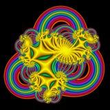De Samenvatting van de regenboog Vector Illustratie