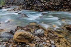 De Samenvatting van de rivier Stock Fotografie