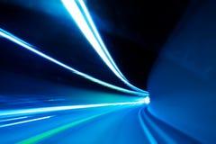 De samenvatting van de tunnel Stock Fotografie