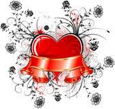 De samenvatting van de valentijnskaart Royalty-vrije Stock Fotografie