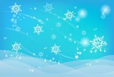 De samenvatting van de winter stock illustratie