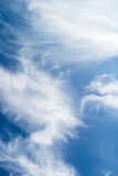 De Samenvatting van de wolk Stock Afbeelding