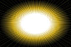 De Samenvatting van de zon Royalty-vrije Stock Afbeelding