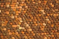 De samenvatting van het dak Stock Afbeelding