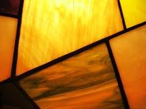 De samenvatting van het gebrandschilderd glas Stock Fotografie