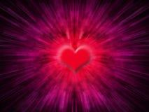 De samenvatting van het hart Stock Afbeeldingen