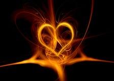 De samenvatting van het hart Stock Fotografie
