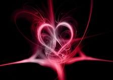 De samenvatting van het hart Royalty-vrije Stock Foto