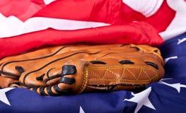 De Samenvatting van het honkbal royalty-vrije stock afbeeldingen