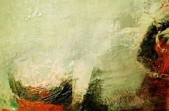 De samenvatting van het olieverfschilderij Stock Afbeeldingen