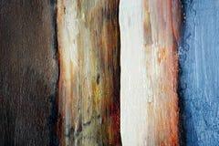 De samenvatting van het olieverfschilderij Stock Fotografie
