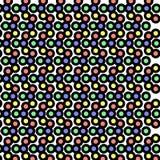 De samenvatting van het puntpatroon Stock Afbeeldingen