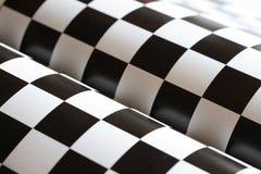 De Samenvatting van het schaakbord Royalty-vrije Stock Foto's