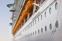 De Samenvatting van het Schip van de cruise Royalty-vrije Stock Foto's