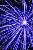 De samenvatting van het vuurwerk Royalty-vrije Stock Afbeeldingen