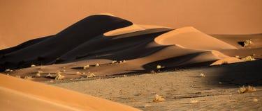 De samenvatting van het zandduin van vormen en kleur Royalty-vrije Stock Afbeelding