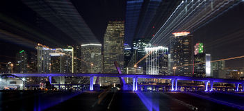 De Samenvatting van Miami Stock Fotografie