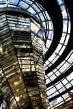De Samenvatting van Reichstag Royalty-vrije Stock Foto's