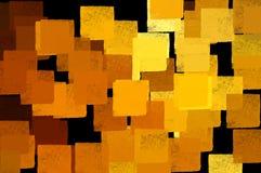 De samenvatting van vierkanten Royalty-vrije Stock Foto