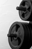 De samenvatting van Weightlifting Royalty-vrije Stock Afbeeldingen
