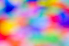 De samenvatting varicoloured vage vlekken. Royalty-vrije Stock Afbeeldingen