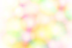 De samenvatting vertroebelde gekleurde vlekkenachtergrond Stock Fotografie